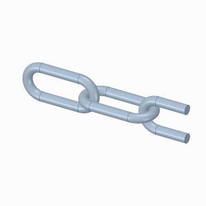 Long link chain  8mm  DIN763  (30 meter)